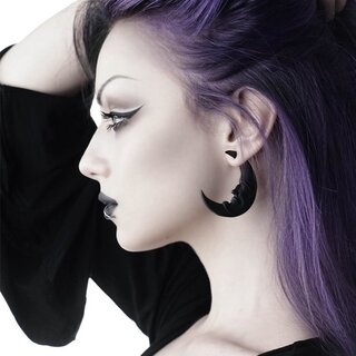 Killstar Earrings - Crescent Moon