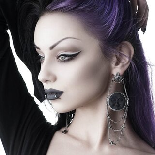 Killstar Earrings - Dreaming Moon