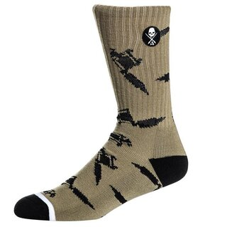 Sullen Clothing Socks - Machined Olive