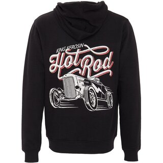 King Kerosin Zip Hoodie - Hot Rod