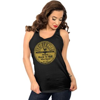 Sun Records by Steady Clothing Damen Tank Top - Distressed