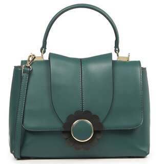 Dancing Days Handbag - Bellis Green