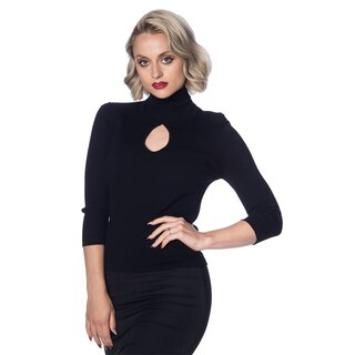 Dancing Days Vintage Ladies Jumper - Louise Black
