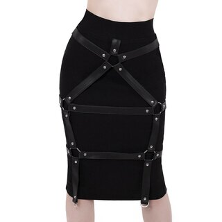 Killstar Pencil Skirt - Bad Bonds