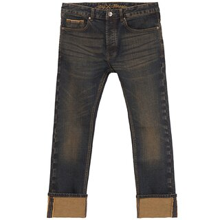 King Kerosin Jeans Trousers - Selvedge Tint Wash