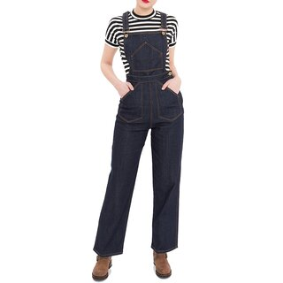 Queen Kerosin Overalls / Jeans Trousers - 2 in 1 Dungaree