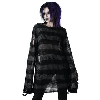 Killstar Knitted Sweater - Ash