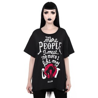 Killstar Relaxed Top - People Suck