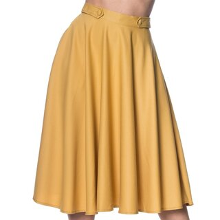 Dancing Days Circle Skirt - Di Di Swing Yellow