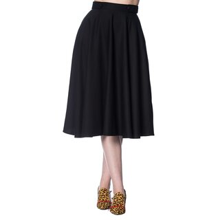 Dancing Days Circle Skirt - Di Di Swing Black