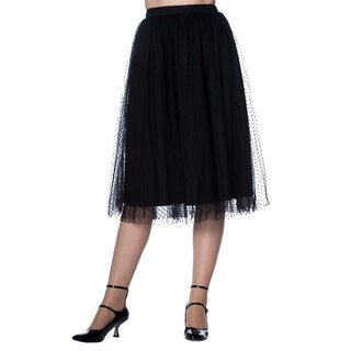 Dancing Days Tulle Skirt - Timea Black