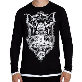Hyraw Langarm T-Shirt - Cult Of Evil
