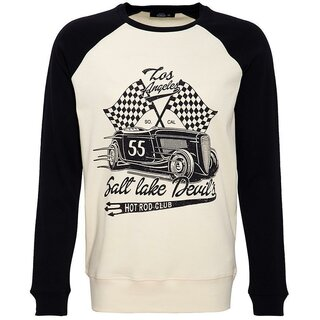 King Kerosin Raglan Pullover - Salt Lake Devil
