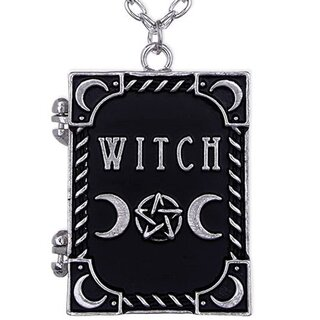 Restyle Necklace - Witch Book