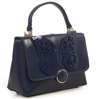 Dancing Days Handbag - Papilio Navy