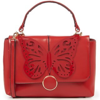 Dancing Days Handbag - Papilio Red