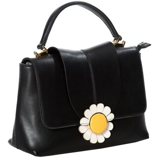 Dancing Days Handbag - Bellis Black