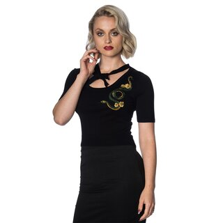 Banned Retro Vintage Jumper - Serpent Tie