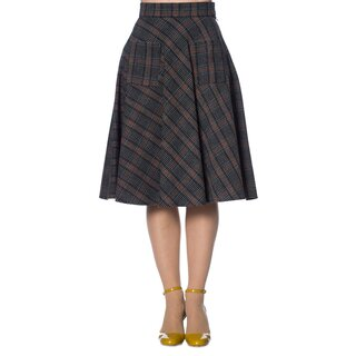 Banned Retro Tartan Skirt - Claire