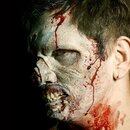 Uscita-Skin ferita lattice naturale - zombie fronte Harry