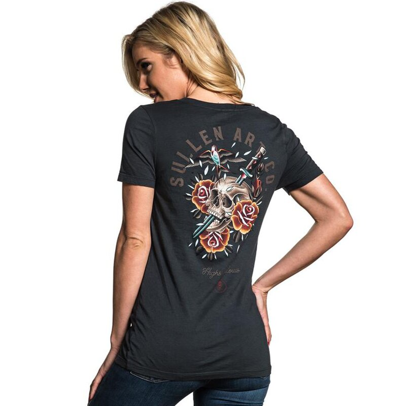 Sullen Clothing Damen T-Shirt - Sparrose