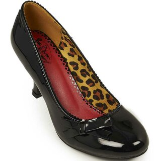 Banned Retro Pumps - Dragonfly Black