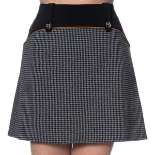 Banned Retro Mini Skirt - Bernie