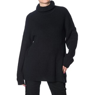 Banned Alternative Knitted Jumper - Grunge Goth