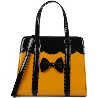 Banned Retro Handbag - Juicy Bits Yellow