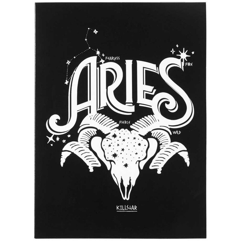 Killstar Birthday Card - Ariete