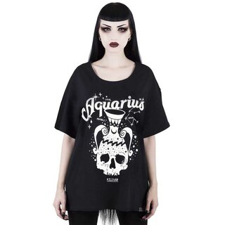 Killstar Relaxed Top - Aquarius