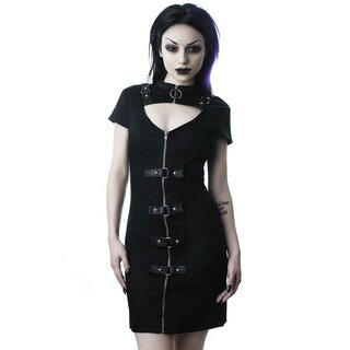 Killstar Bodycon Dress - Casey Black