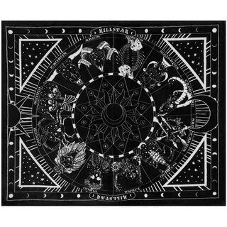Killstar Fleece Blanket - Zodiac