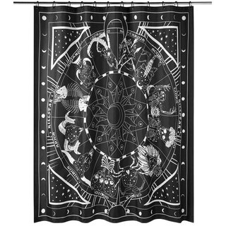 Killstar Shower Curtain - Zodiac
