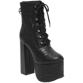 Killstar Platform Boots - Graveyard Shift