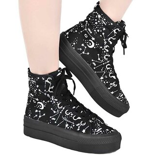 Killstar High Top Sneakers - Starmap