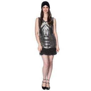 Banned Retro Flapper Dress - Space 20s