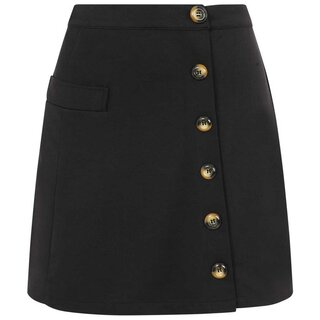 Banned Retro Mini Skirt - Beatrice Black