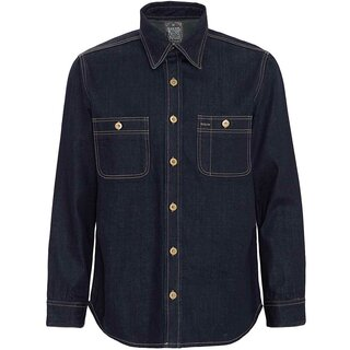 King Kerosin Denim Hemd - Blanko