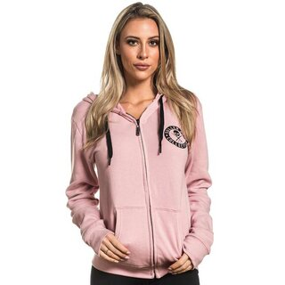 Sullen Clothing Damen Kapuzenjacke - Badge Of Honor Rosa