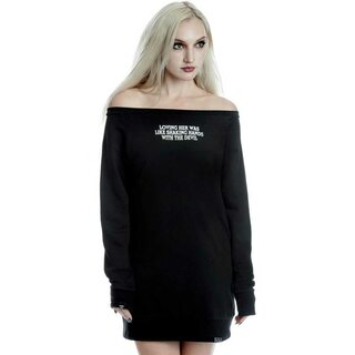 Killstar Sweater Mini Dress - Shes Trouble