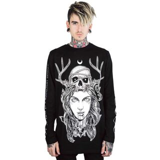 Killstar Langarm T-Shirt - Moon Magic