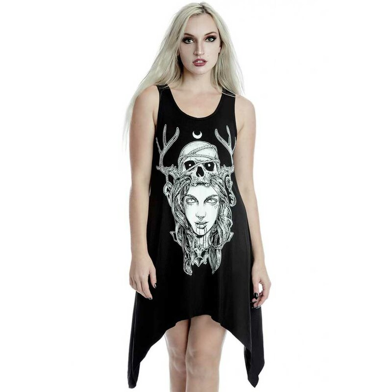 Killstar serbatoio vestito - Moon Magic