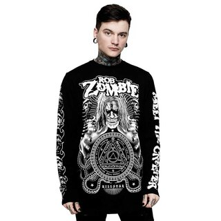 Killstar X Rob Zombie Long Sleeve T-Shirt - Magick