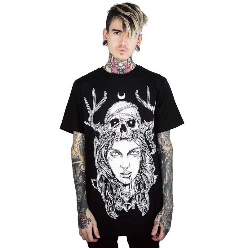 Maglietta Killstar Unisex - Moon Magic