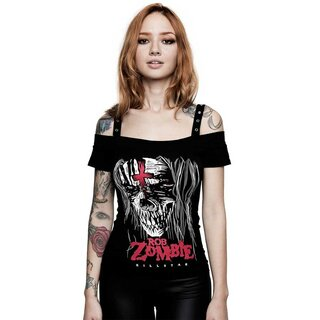Killstar X Rob Zombie Bardot Top - The End