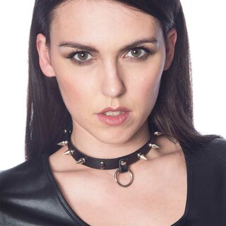 Banned Alternative Choker - Lucifer