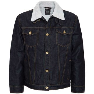 King Kerosin Denim Winterjacke - Dip & Dry