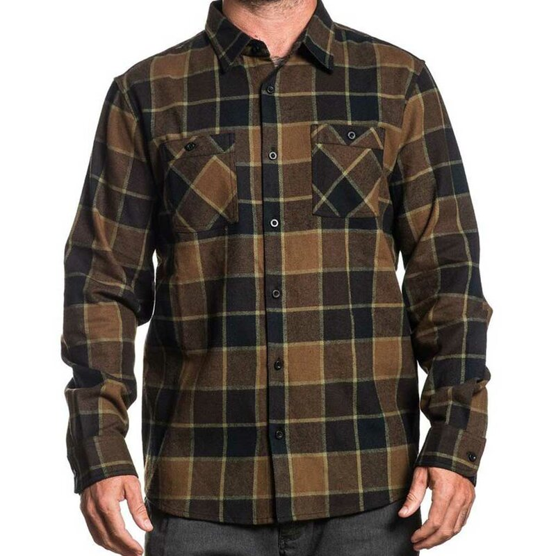 Sullen Clothing Flanellhemd - Woodland S