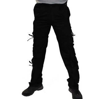 Black Pistol Jeans Trousers - Dark Ring